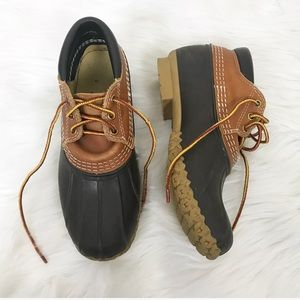 {L.L.Bean} Brown Short Duck Boots